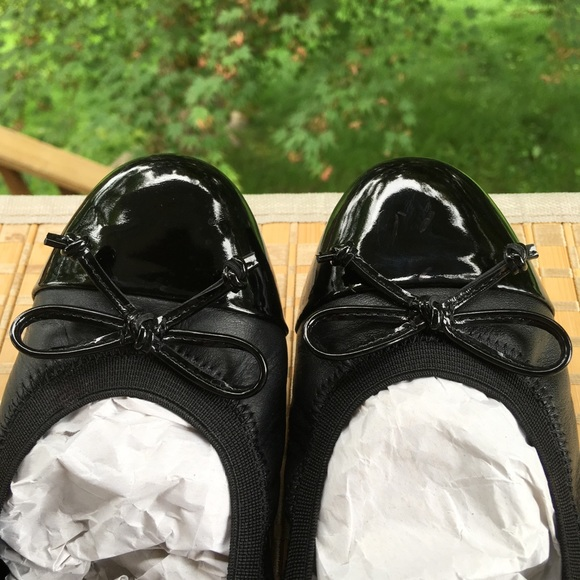 72f904c4fe70c Geox Shoes   Black Ballet Flats Size 37   Poshmark